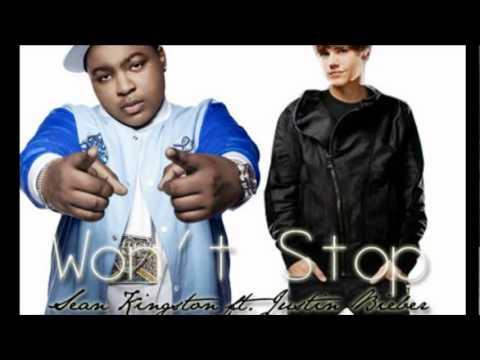 Wont Stop, Sean Kingston Ft Justin Bieber [(lyrics)] video