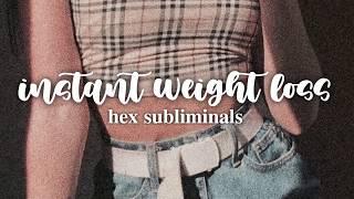 ❝ immediate weight loss subliminal [intense] ❞