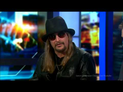 "Kid Rock warns ""Bieber, Watch the Vanilla Ice Story"" LIVE Australian Tv Interview 6-11-2013"