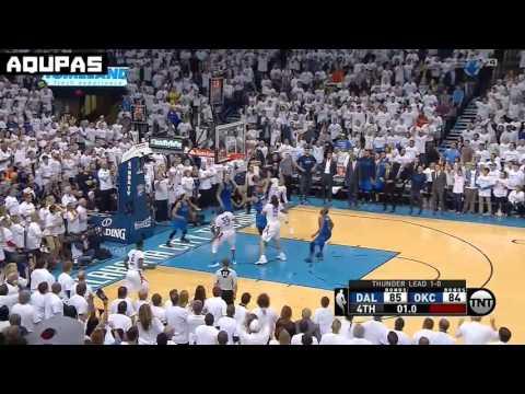 Oklahoma city Thunder Steven Adams GAME WINNING PUTBACK DOESN'T COUNT  Game 2 highlight vs Mavericks