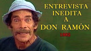 Don Ramón Entrevista Inedita De 1982 Video Completo HQ