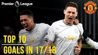 Manchester United Season Review: Top 10 Goals! | Season 2017/18