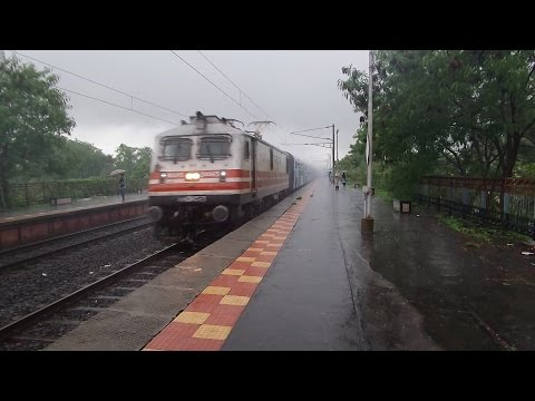 Spectacular Sights And Sounds Of Indian Railways From The Monsoons!
