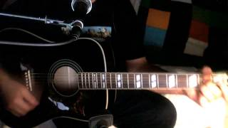 Good Morning, Good Morning ~ The Beatles ((°J°)) ~ Acoustic Cover w/ Epiphone Dove/EB