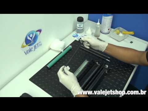 Vídeo Recarga Toner HP CE285A   85A   P1102w   M1212   M1132 - Vídeo Aula Valejet.com