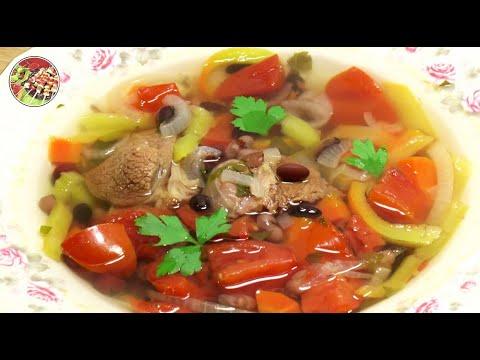 Суп говяжий с фасолью. Просто! Вкусно! Недорого!.