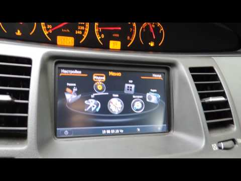 GPS магнитола Nissan Primera p12