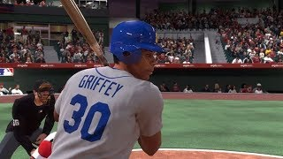 MLB The Show 19 Moments: Ken Griffey Jr. and Sr. go deep!