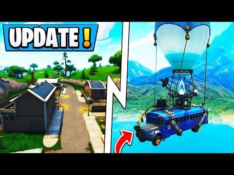 *BIG* Fortnite Today's Update! | New Map POI, Playground V3, Vehicle! thumbnail