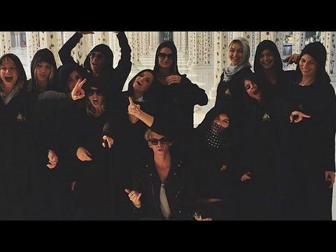 Selena Gomez & Kendall Jenner BFFs in Dubai