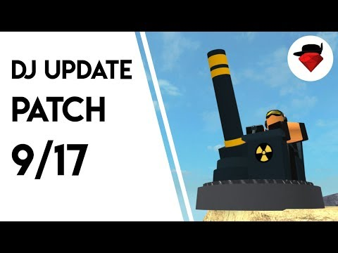 Mortar Rebalancing | DJ Update: Patch 9/17 | Tower Battles [ROBLOX]