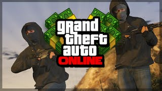 GTA 5 Online - GIVE MONEY TO FRIENDS! (GTA 5 Gameplay)