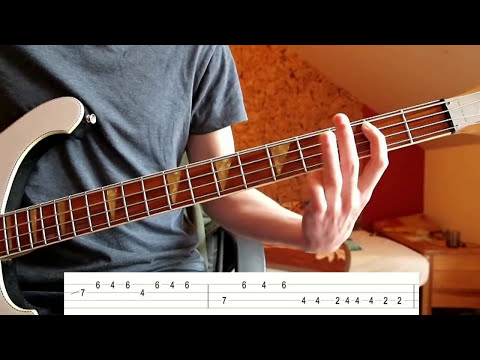 QOTSA - I Appear Missing (Bass Tutorial with TABS)