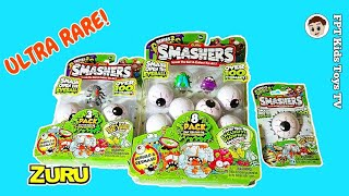 J Baby - Baby Nemo Smashing Zuru Smashers with His Foot and a Hammer Gross Series 2 FPT Kids Toys TV