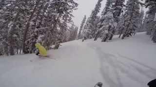 Aspen Highlands, CO | Deep Temerity | #PowderDay | Skiing with Liz | 02.01.14