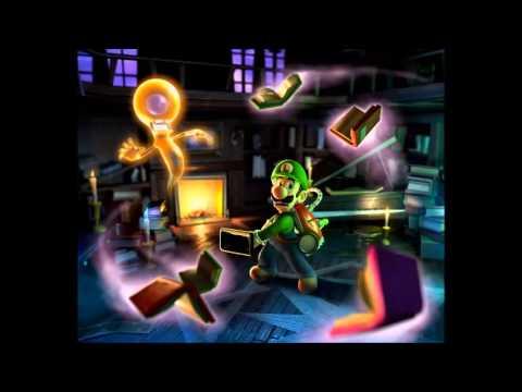 Library Piano Luigi S Mansion Dark Moon Music Extended
