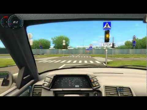 Driving Licence Test Track City Car Driving Test Track