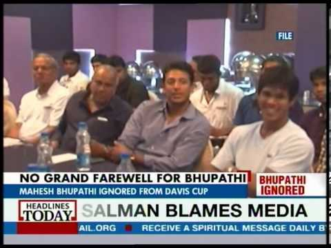 Mahesh Bhupathi left out of Indian Davis Cup team