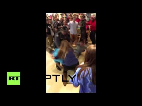 Black Friday Brawls: Shoppers Scrap Like It's A Fight Club!!! [Video]