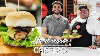 HAMBÚRGUER CASEIRO + MAIONESE DE BACON Feat. CHEFE MILTON VASQUES