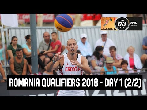 FIBA 3x3 Europe Cup Qualifier - Romania 2018 - Day 1 (2/2) - Re-Live