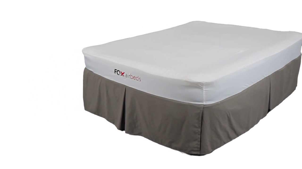 Fox Airbeds Best Air Mattress with Memory Foam or Pillow