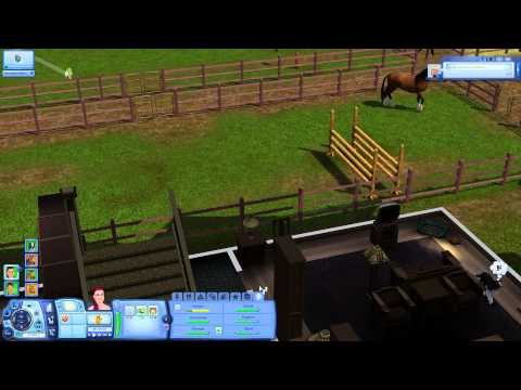 Pferdespiel on let s play die sims 3 showtime 063 pferdespiele von und