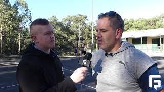 Belgrave FNC  - Netball  - Matt Weaver Interview (Coach)