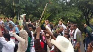Raw: Dozens Dead During Stampede in Ethiopia