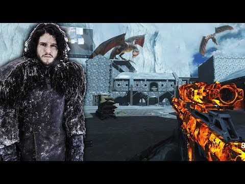 Game Of Thrones Castle Black On Of Duty Jon Snow