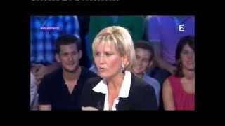 Nadine Morano - On n'est pas couché 10 septembre 2011 #ONPC