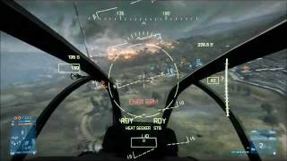 Battlefield 3 - AH-1Z Viper Attack Helicopter (Multiplayer Gameplay)