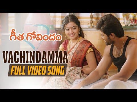 Download Lagu  Vachindamma Full  Song | Geetha Govindam | Vijay Deverakonda, Rashmika, Parasuram, Gopi Sunder Mp3 Free