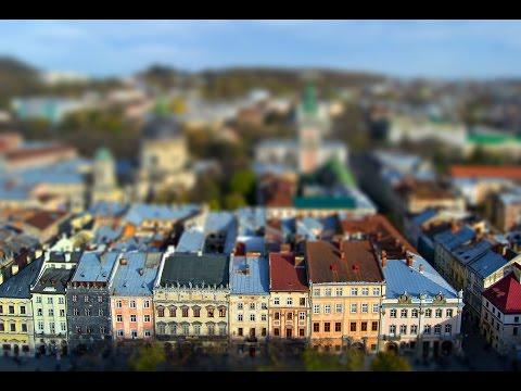 Туристический город Львов