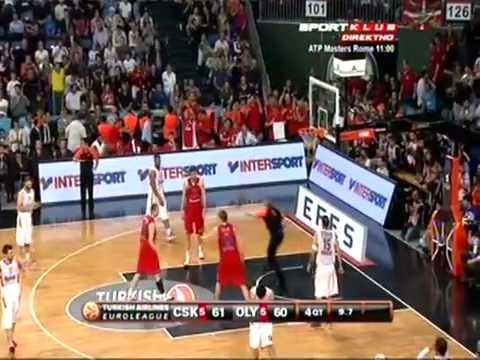 CSKA V.S. Olympiakos 61 - 62  Highlights