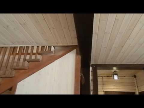Деревянный дом из профилированного бруса. После отделки.