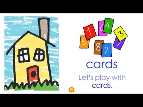 Toys Vocabulary - Inside - by ELF Learning