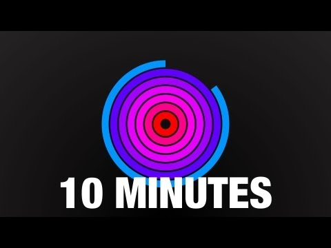 10 Minute Countdown Radial Timer With Beeps video