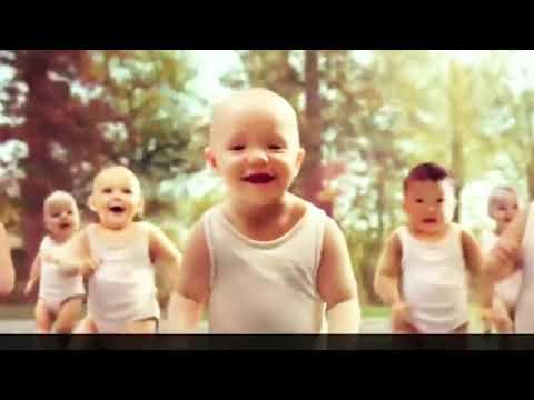 Baba tánc az EVIAN és a GANGNAM STYLE görgő kocsmában