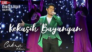 Cakra Khan kekasih Bayangan Live concert Nova 2017