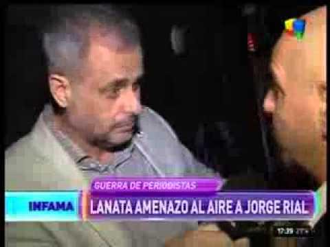 Jorge Rial le respondió a Lanata: ¿Le tengo que tener miedo?