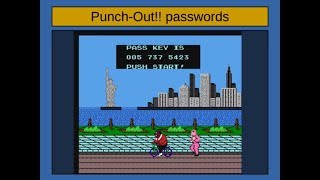 Cracking Videogame Passwords :: Punch-Out‼ (S01E11)
