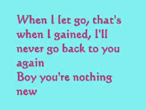 Auburn - So Over You [ lyrics ]