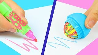 12 DIY Weird Back To School Supplies You Need To Try / 12 Back To School Pranks!