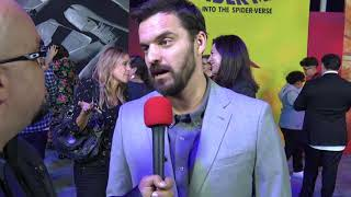Jake Johnson on Voicing Peter Parker in SPIDER-MAN INTO THE SPIDER VERSE