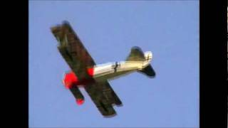 Flight of Flair Fokker D.VII Powered by Laser 75 Engine