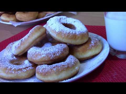 Воздушные Пончики На Кефире, Вкусные и Быстрые! | Donuts Recipe