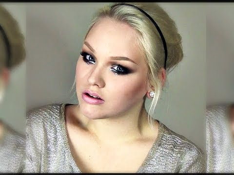 NYE ''Glitter & Diamonds'' Party Look - Makeup Tutorial