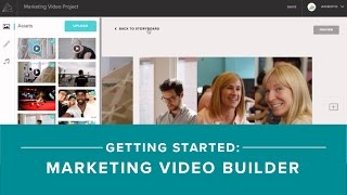 Getting started with Animoto's Marketing Video Builder