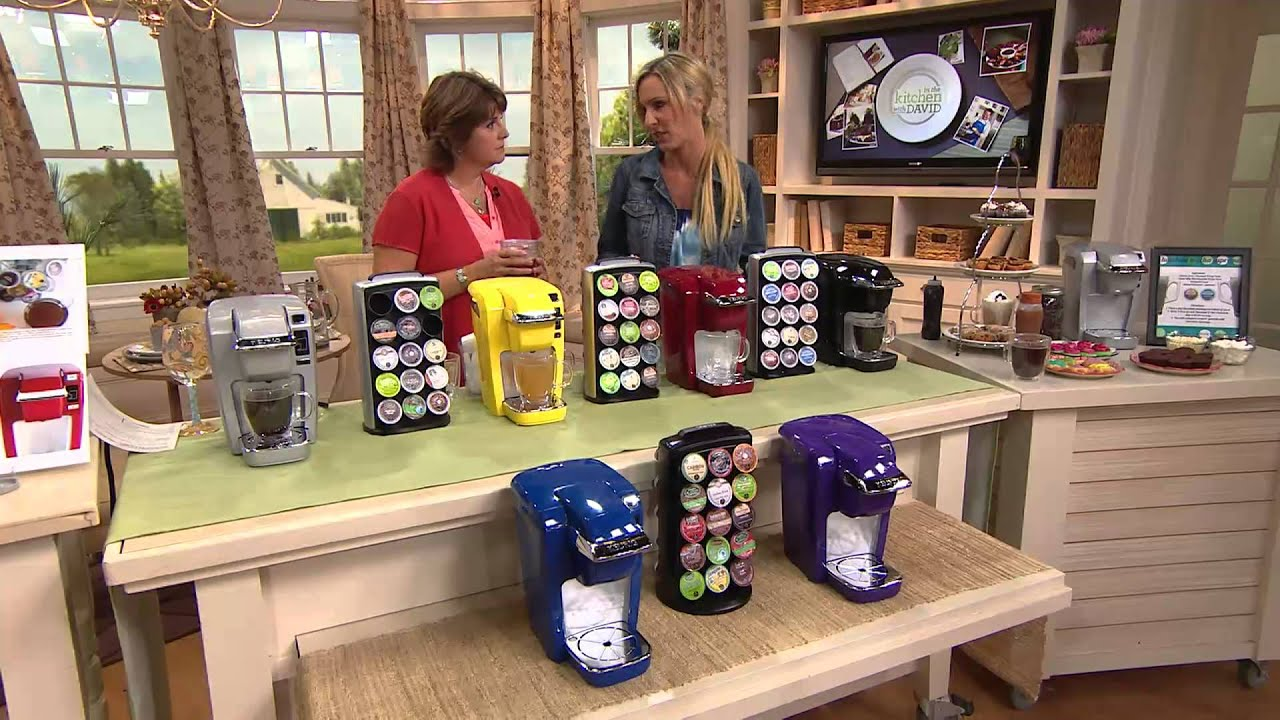 Keurig K10 Personal Coffee Maker w/ Your Choice of K-Cup Packs with Jill Bauer - YouTube
